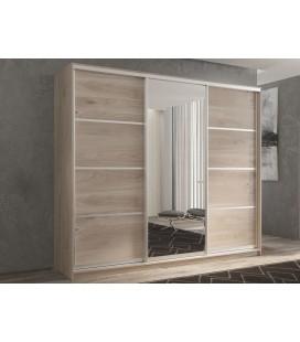 3-дверный шкаф купе Кааппи-2 ✅ Дуб Кастелло серый