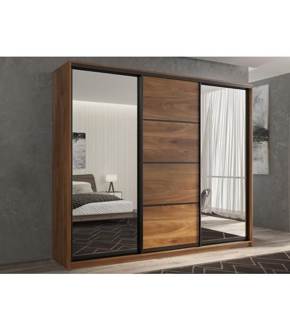 3-дверный шкаф купе Кааппи-3 ⭐ Дуб Кастелло бренди