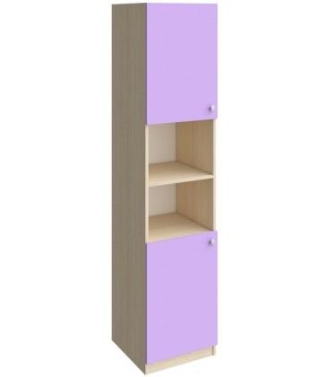 колонка закрытая 2/3 Астра дуб молочный / фиолетовый