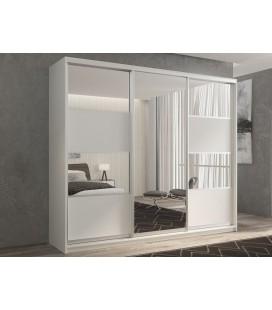 3-дверный шкаф купе Кааппи-5 ✅ Белый бриллиант