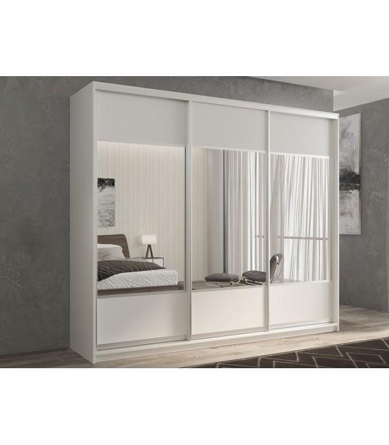 3-дверный шкаф купе Кааппи-6 ✅ Белый бриллиант