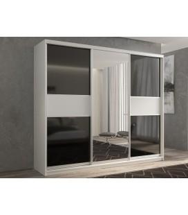 3-дверный шкаф купе Кааппи-9 ✅ Белый бриллиант
