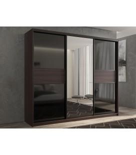 3-дверный шкаф купе Кааппи-9 ✅ Венге