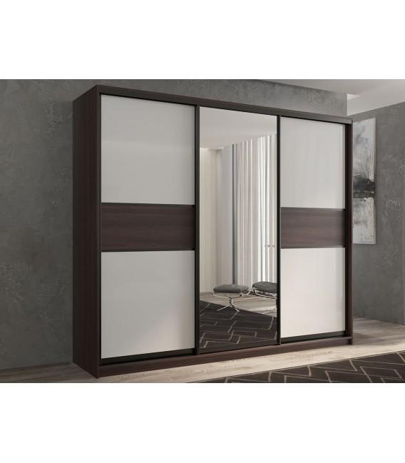 3-дверный шкаф купе Кааппи-10 ✅ Венге