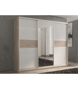 3-дверный шкаф купе Кааппи-10 ✅ Дуб Кастелло серый