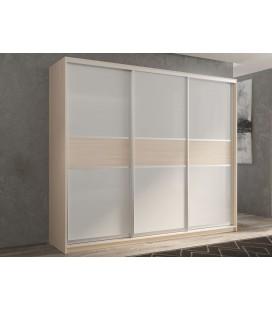 3-дверный шкаф купе Кааппи-11 ✅ Дуб молочный