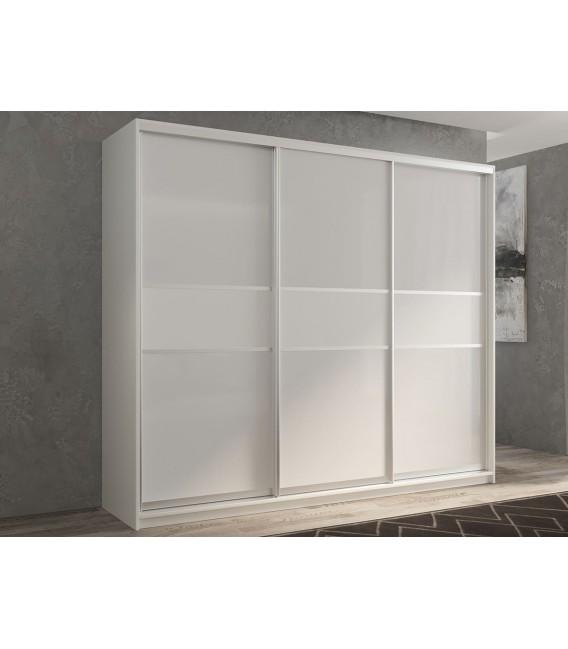 3-дверный шкаф купе Кааппи-11 ✅ Белый бриллиант