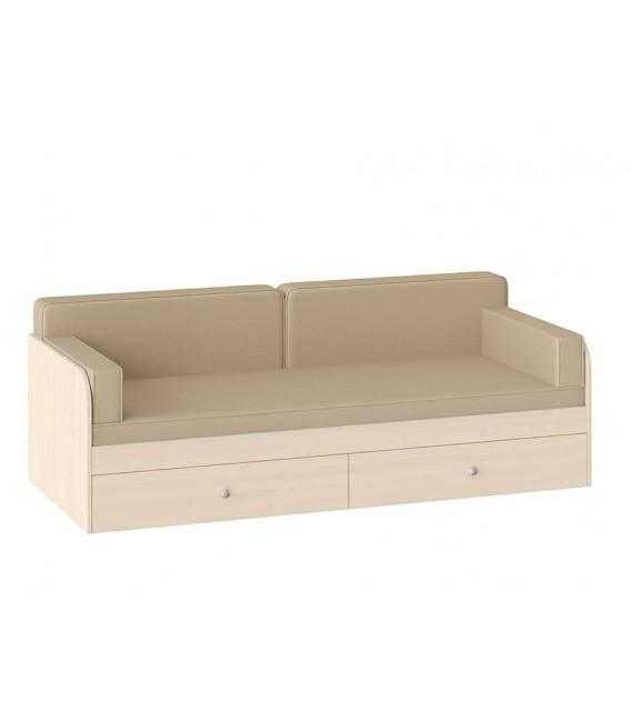 Подушки с покрывалом цвет Бежевый для кровати одноярусной Астра
